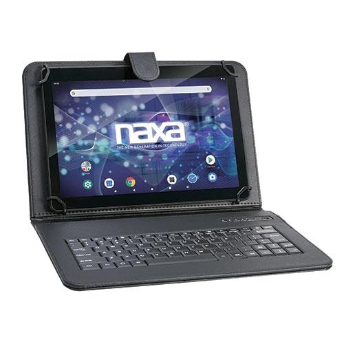 """Naxa NID-1052 10.1"""" Tablet with Bluetooth Keyboard & Case"""