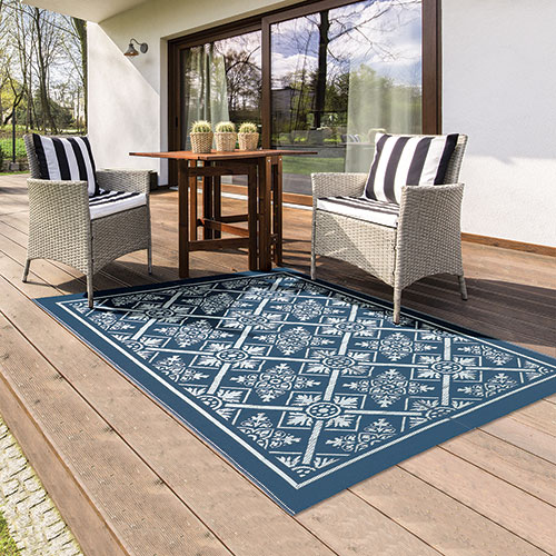 Reversible Outdoor Patio Rug