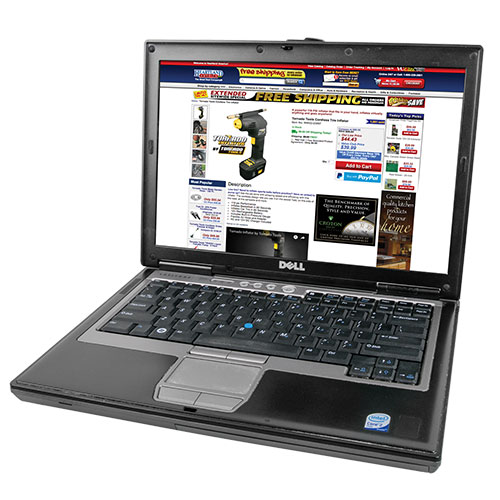 Dell 160GB Blue Laptop with Windows 7
