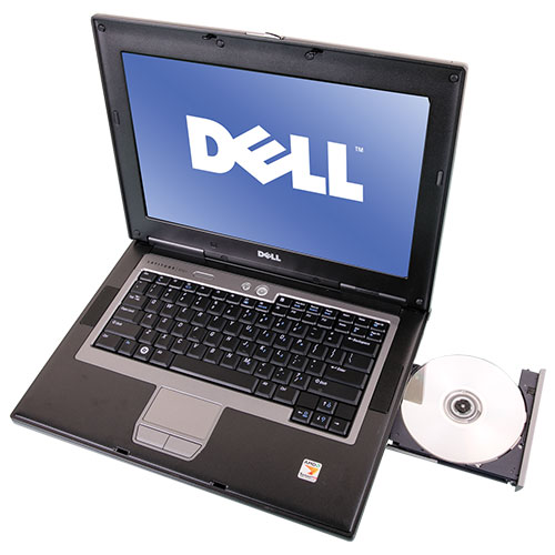 Dell Duo Core 4.0 GHz / 120 GB Laptop - Gold