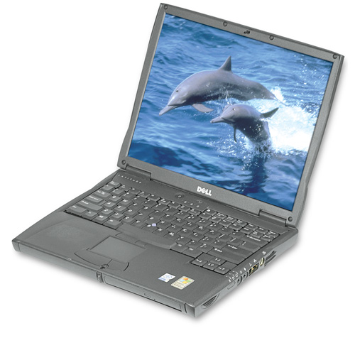 Dell Pentium 4 1.8GHz Notebook Computer With DVD
