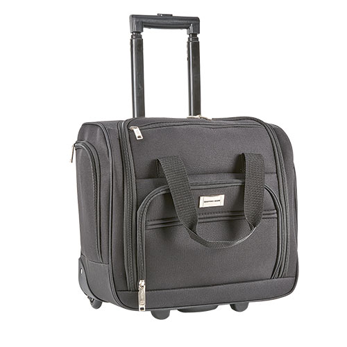 Geoffrey Beene Black Carry-On Suitcase