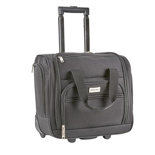 Geoffrey Beene Black Carry-On Suitcase