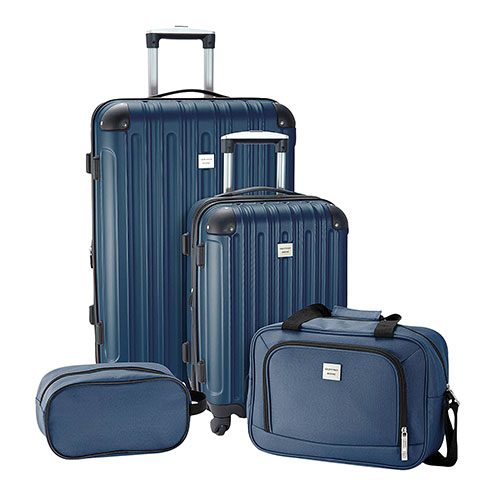 Geoffrey Beene Colorado 4 Piece Luggage Set