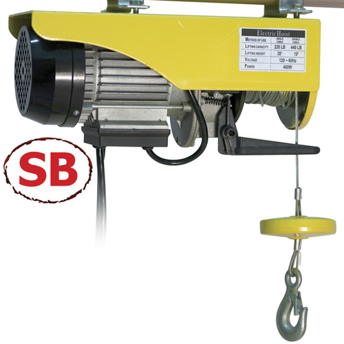 Electric Garage Hoist