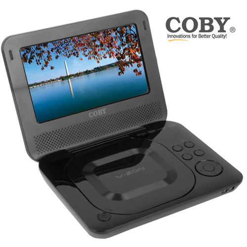 Coby 7 inch Portable DVD Player