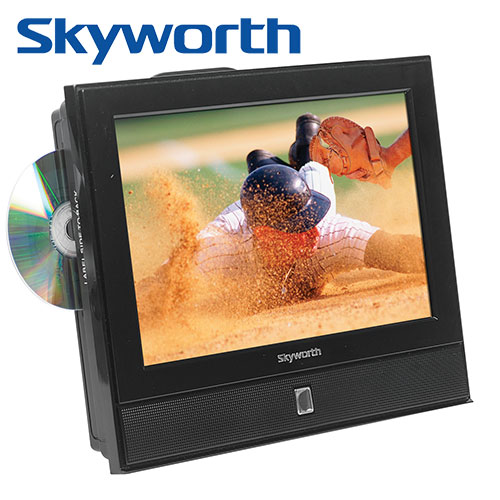 Skyworth 13.3 inch TV/DVD Combo