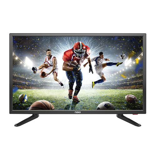"Naxa NT-2410B 24"" LED TV with USB & Car Kit"
