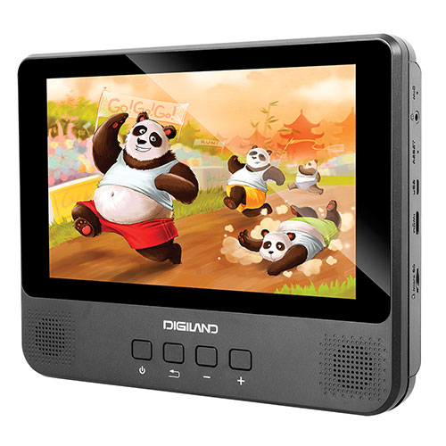 Heartland America: Digiland Quad Core 9 Inch Tablet with DVD