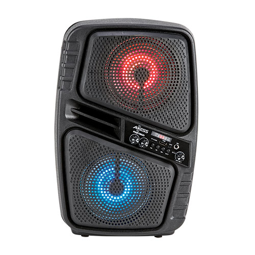 Axess Dual 6.5 inch Bluetooth and PA Speaker
