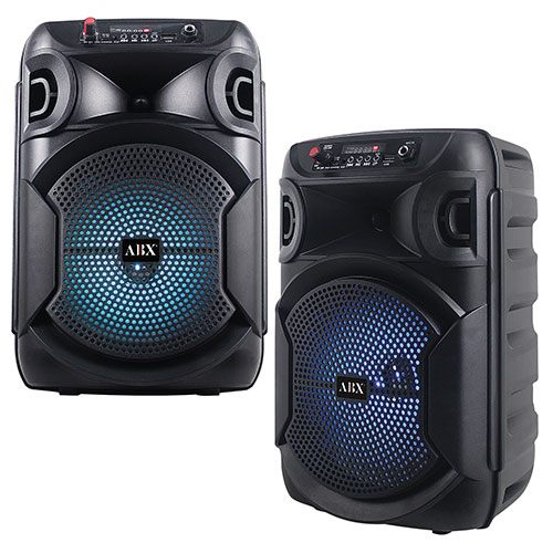 Audiobox 8 inch Portable Bluetooth Party Speaker - 2 Pack