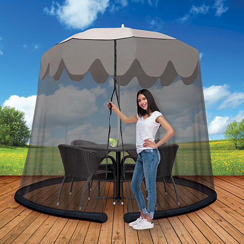 Insta-Screen Patio Umbrella Screen