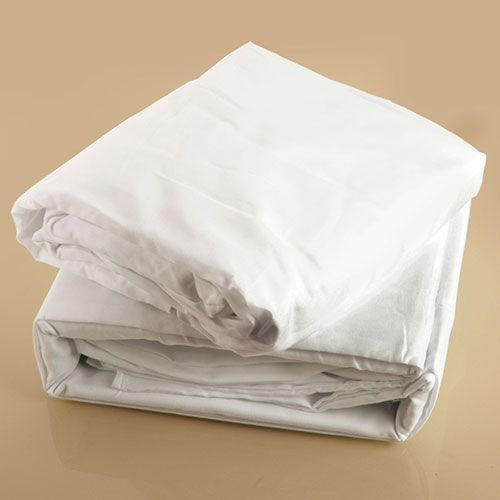 White Microfiber Sheet Set - Full