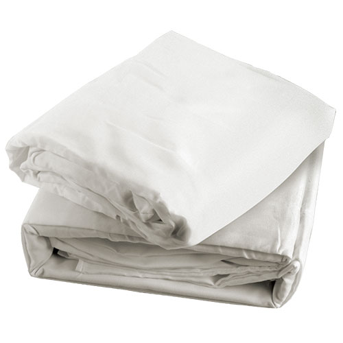 White Microfiber Sheet Set - Queen