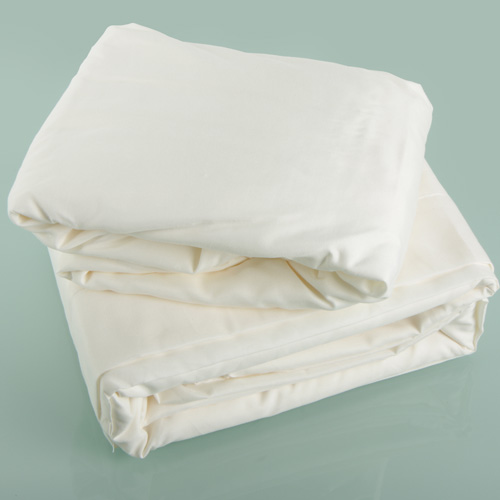 Ivory Microfiber Sheet Set - Twin