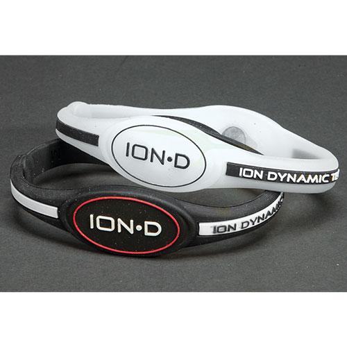 Powerbilt Men's Z40 Ion-D Bracelets - 2 Pack