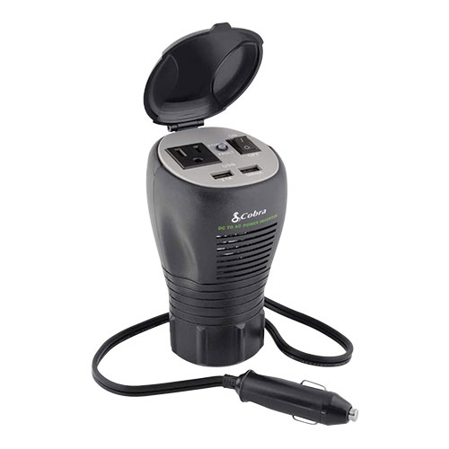 Cobra CPI290CH Cup Holder Power Inverter