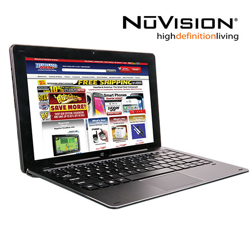 Nuvision 11.6 Inch 2-in-1 Tablet with Windows