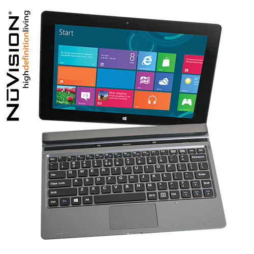 Nuvision TM101W545L 10.1 Inch Tablet with Windows 10