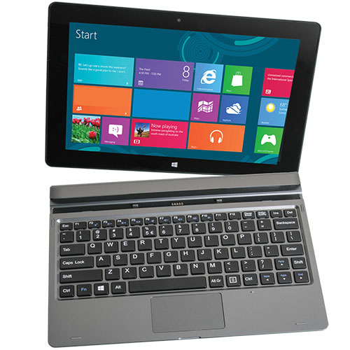 Nuvision TM101W535L 10.1 Inch 2-in-1 Tablet with Windows 8.1