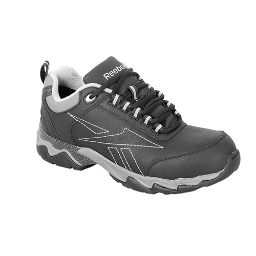 Reebok Men's Black & Grey Athletic Beamer Shoes