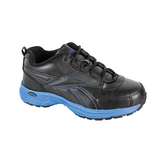 Reebok Ateron Men's Black & Blue Athletic Shoes