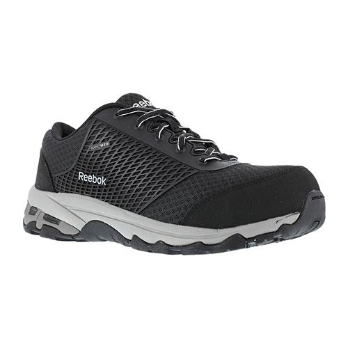 Reebok Men's Black Heckler Athletic Safety Shoes
