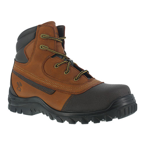Iron Age Men's Brown Back Stop Work Boots