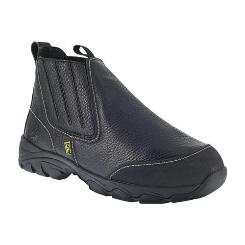 Iron Age Men's Black Slip-On Work Boots