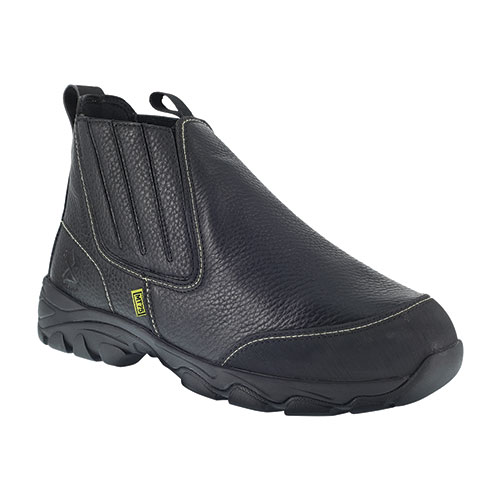 Iron Age Men's Black Slip-On Work Boots