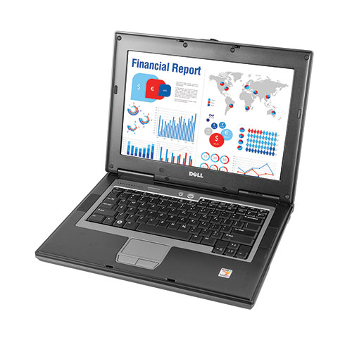 Dell D-Core 4GHZ/120GB Laptop