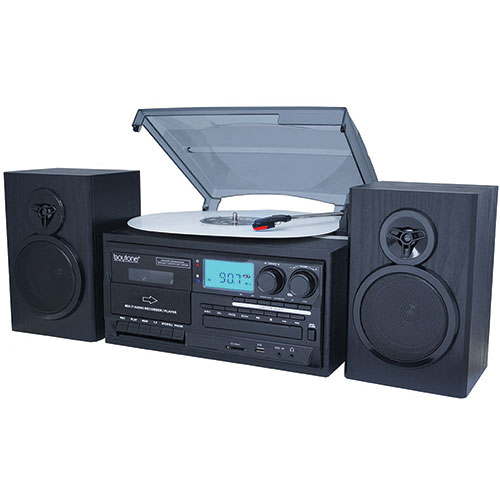 Boytone BT-28SPB 8-in-1 Classic Entertainment System