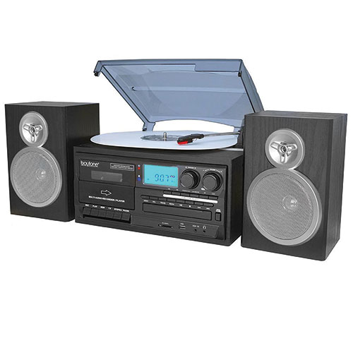 Boytone BT-28S 8-in-1 Classic Entertainment System