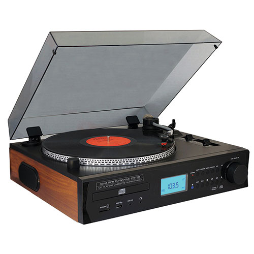 Boytone BT11B Turntable with Pitch Control