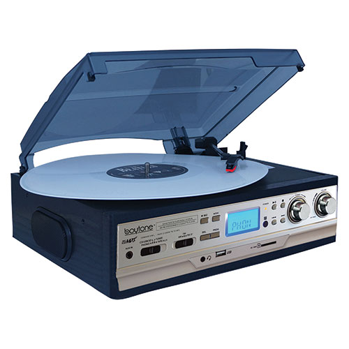 Boytone Turntable Plus Entertainment System