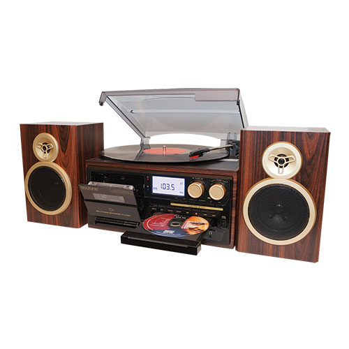 Boytone Classic BT-28SPM 8-in-1 Entertainment System