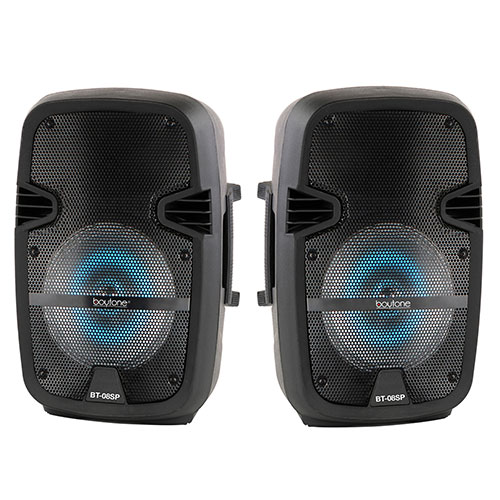 "Boytone BT-08SP 8"" Speakers with FM Tuner"