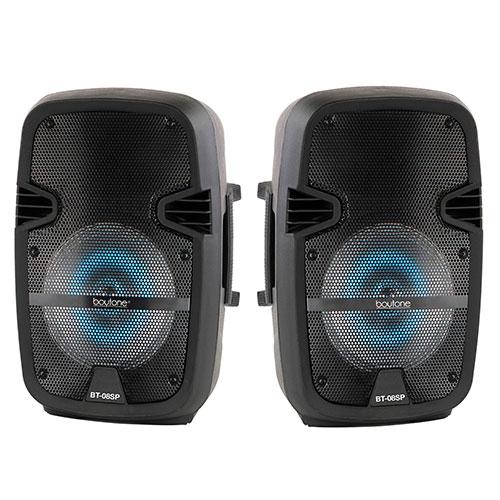 "Boytone BT-08SP 8"" Speakers with FM Tuner"