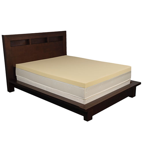 Health-O-Pedic Memory Foam Mattress Topper