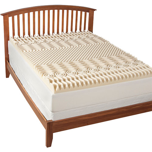 Health-O-Pedic 7-Zone Memory Foam Mattress Topper