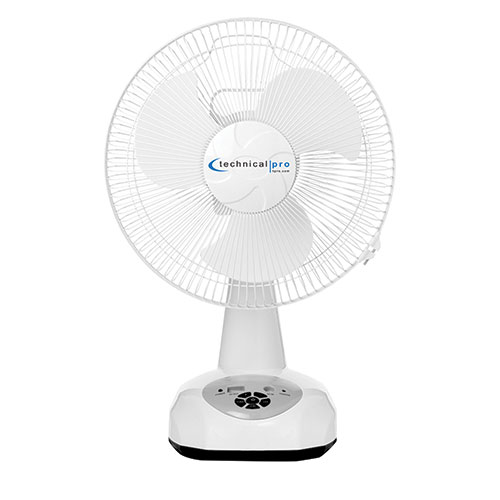 Technical Pro FO12 Rechargeable Table Fan