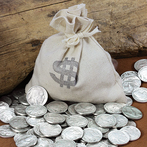 American Coin Treasures Bag of 20 Buffalo Nickels