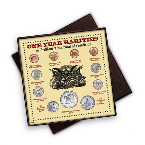 American Coin Treasures 1 Year Rarity Coins