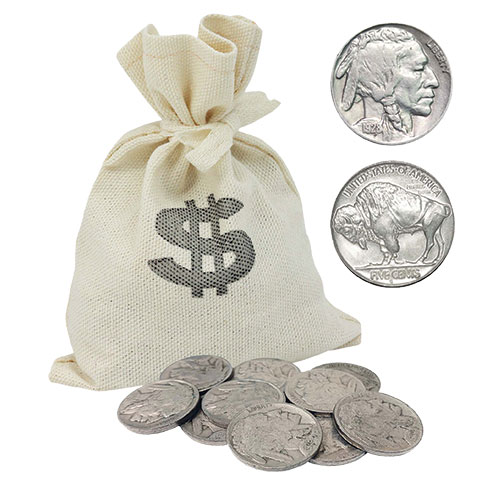 American Coin Treasures 1920's Buffalo Nickels - 10 Piece