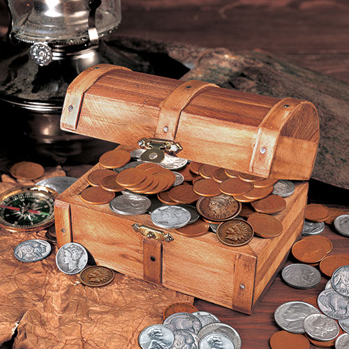 American Coin Treasures Historic Treasure Chest