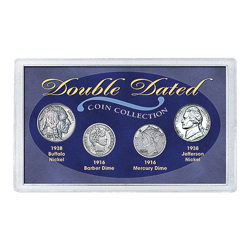 American Coin Treasures Double-Dated Coin Collection