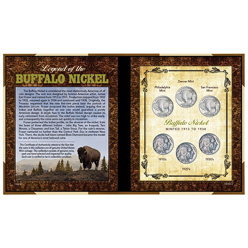 American Coin Treasures Buffalo Nickel Collection