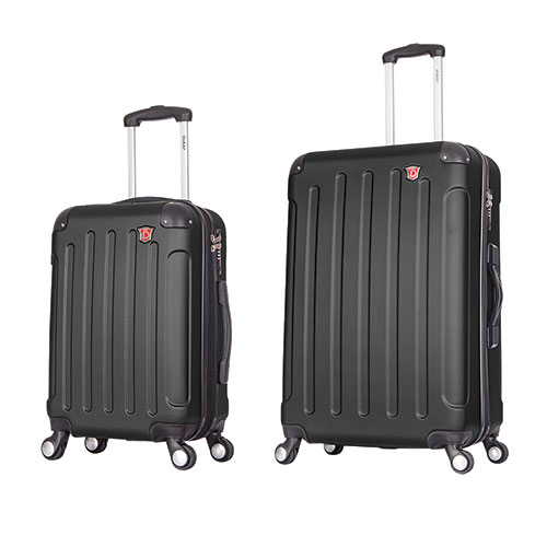 Dukap 2 Piece Luggage Set with Weight Scale