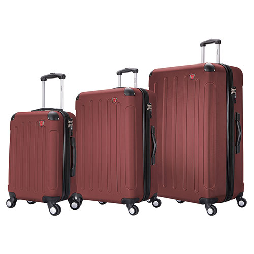 Dukap 3 Piece Luggage Set with USB & Scale