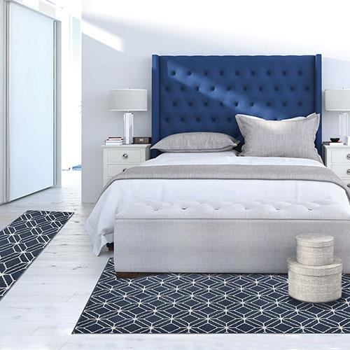 Achim Capri 3 Piece Zara Rug Set